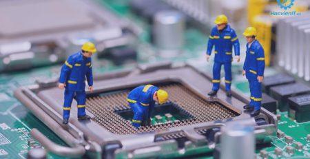 sức hút học nghề kỹ thuật sửa chữa lắp ráp máy tính