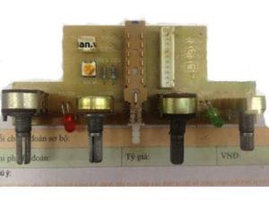 Bộ điều khiển + chiết áp cho máy cấp nguồn đa năng