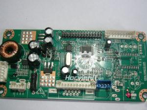Bo mạch chính test LCD & LED