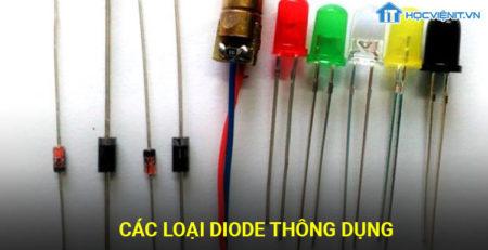 Các loại Diode thông dụng