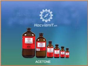 Dung dịch tẩy rửa bo mạch: Axeton TG740001