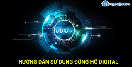Hướng dẫn sử dụng đồng hồ Digital