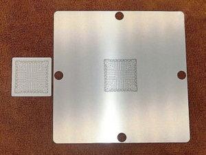 Lưới làm chân chipset: Loại inox 7.8x7.8cm