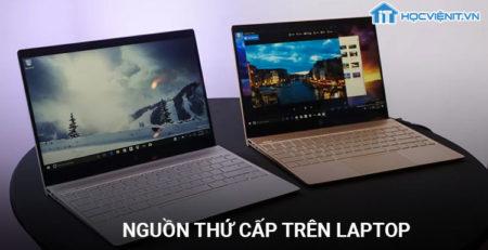 Nguồn thứ cấp trên laptop