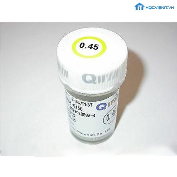 qwin-0-45mm-leadfree-soldering-ball