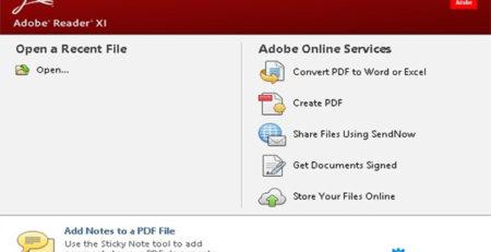 Phần mềm adobe reader hữu ích
