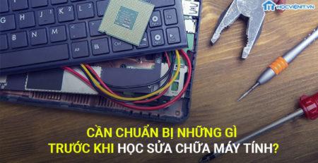 Cần chuẩn bị những gì trước khi học sửa chữa máy tín?