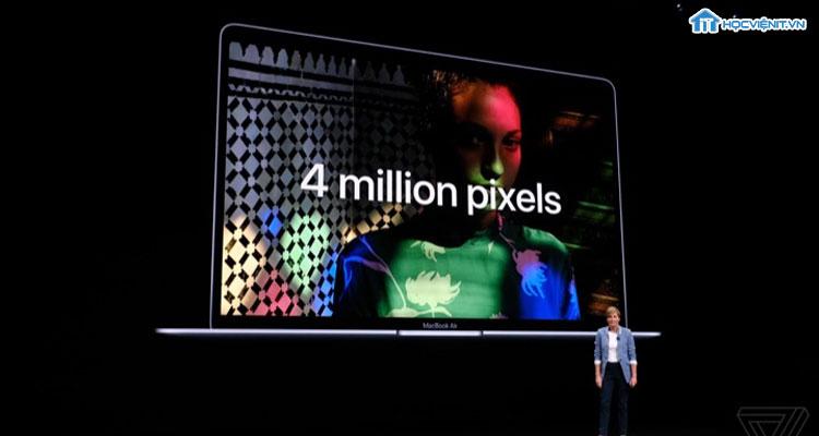 Macbook Air 2018 có màn hình Retina