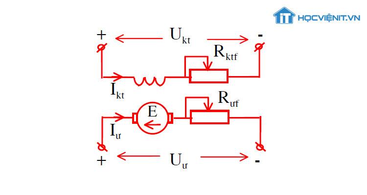 Sơ đồ dòng điện một chiều