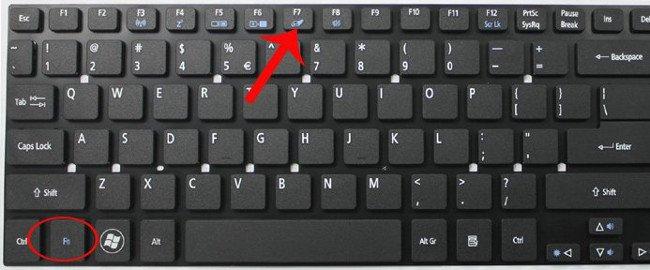 khóa bàn phím laptop trực tiếp