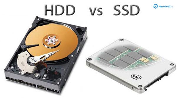 So sánh SSD với HDD