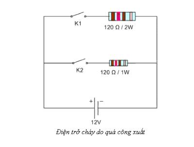 tác dụng của điện trở sứ