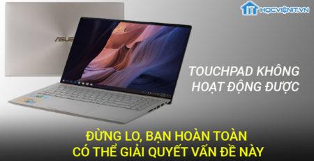 Touchpad không hoạt động được