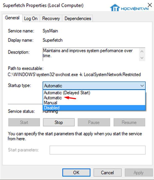 Kiểm tra dịch vụ RPC