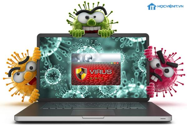 Máy tính bị virus