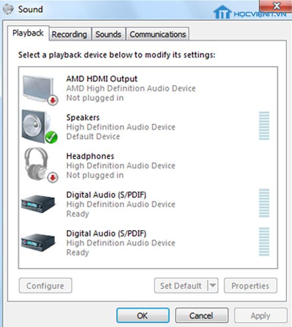 Hướng dẫn cách sửa lỗi loa mất tiếng trên laptop