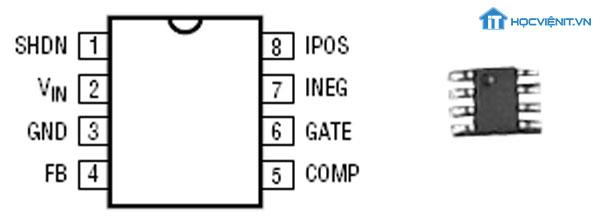 Chân IC và hình ảnh IC thực tế