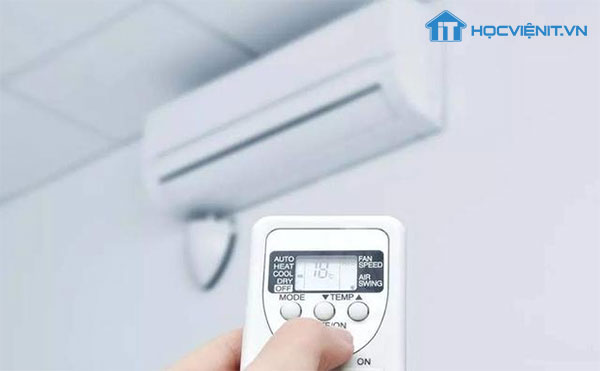 Sử dụng máy tính ở nơi có nhiệt độ thoáng mát
