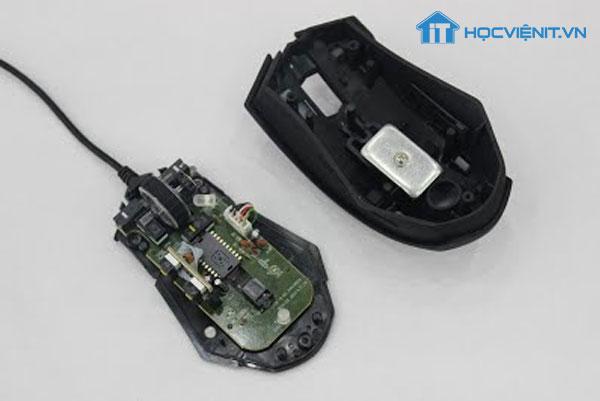 Tháo vỏ chuột máy tính