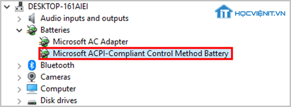 Microsoft ACPI Compliant Control Method Battery