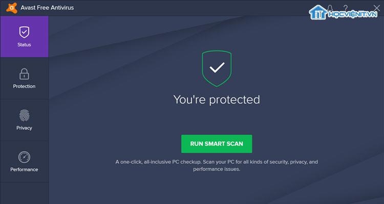 Phần mềm diệt vi-rút Avast