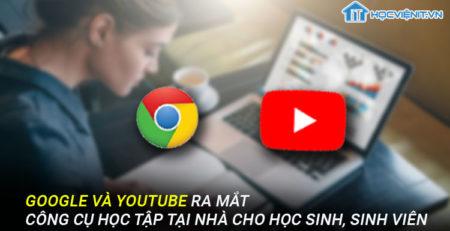 Google và Youtube ra mắt công cụ học tập tại nhà cho học sinh, sinh viên