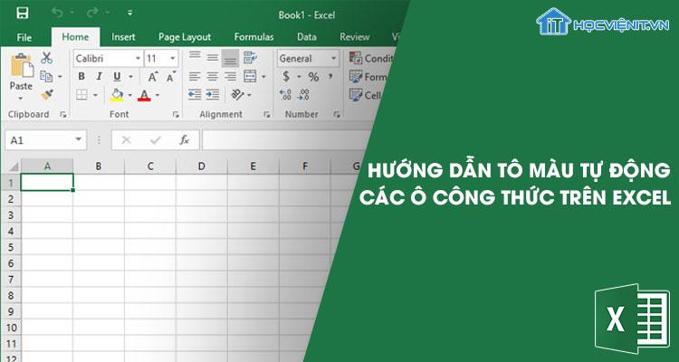 Hướng dẫn tô màu tự động cho các ô công thức trên Excel