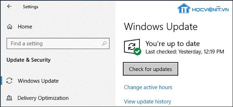 Cập nhật Windows