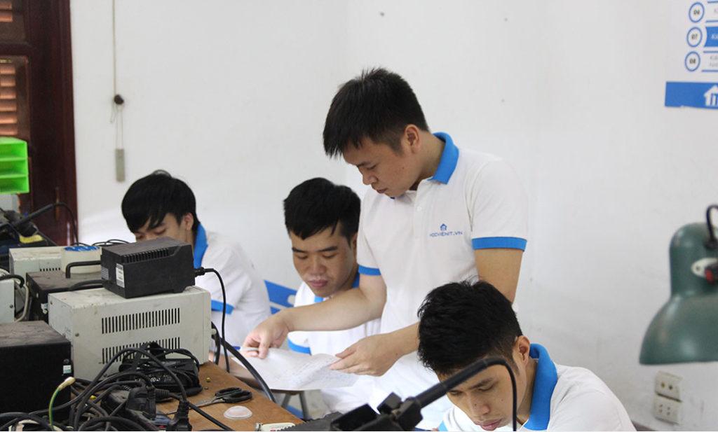 Môi trường đào tạo hiện đại tại HOCVIENiT.vn