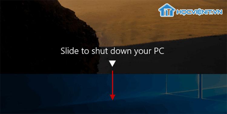 Slide To Shut Down