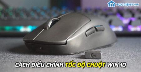 Cách điều chỉnh tốc độ chuột win 10