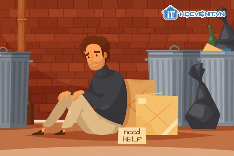 Sự lười biếng thường dẫn đến nghèo đói