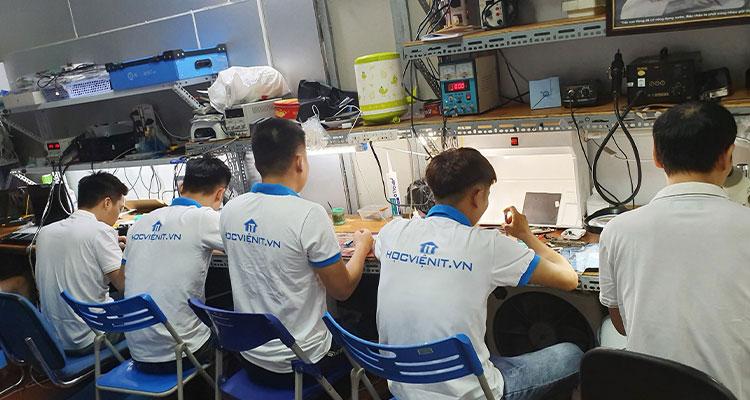 Hình ảnh học viên thực tập tại Ap24h.vn