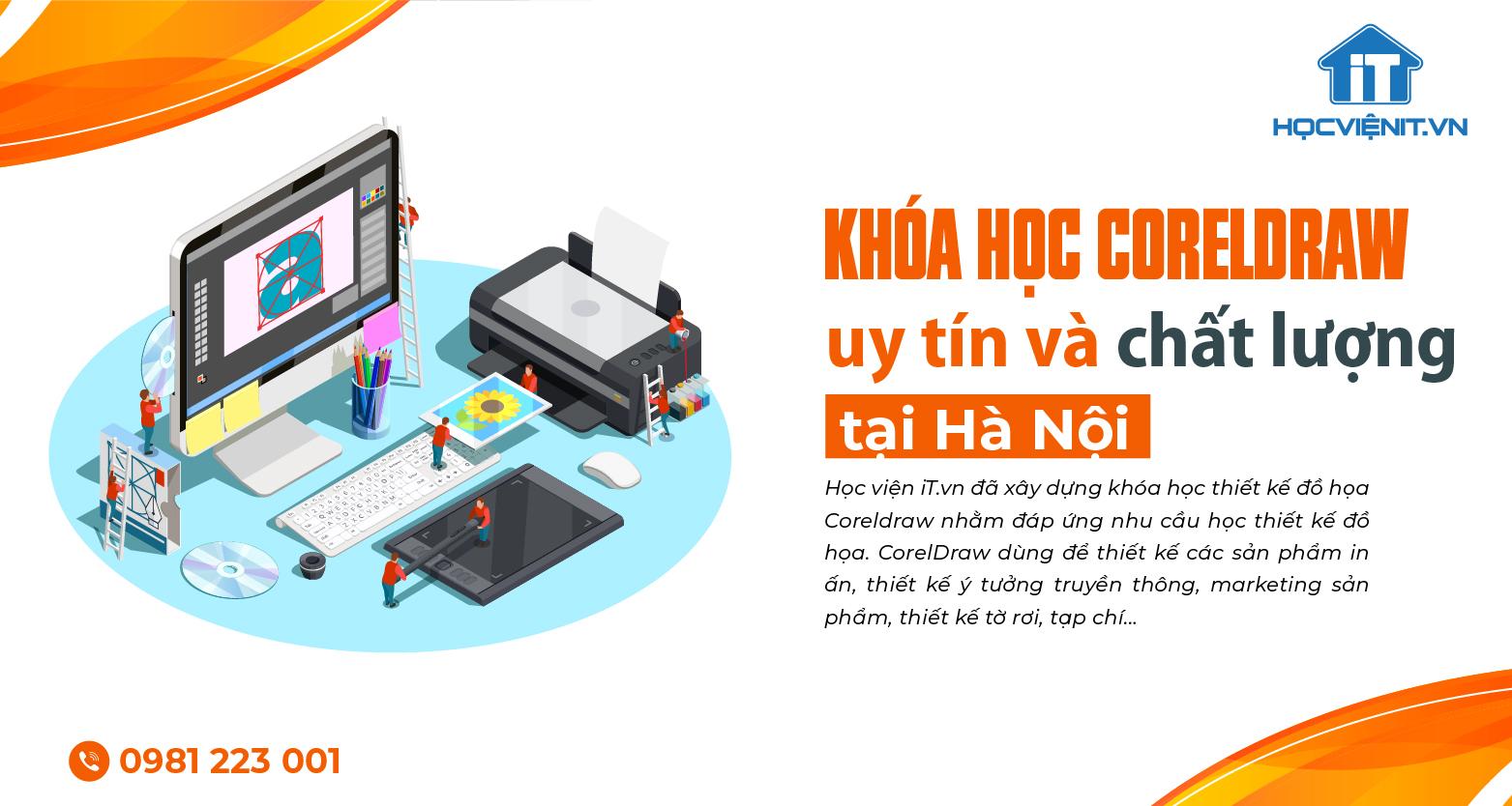 Khóa học Coreldraw uy tín và chất lượng tại Hà Nội