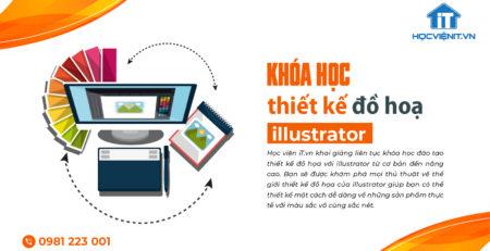 Khóa học thiết kế đồ họa với illustrator