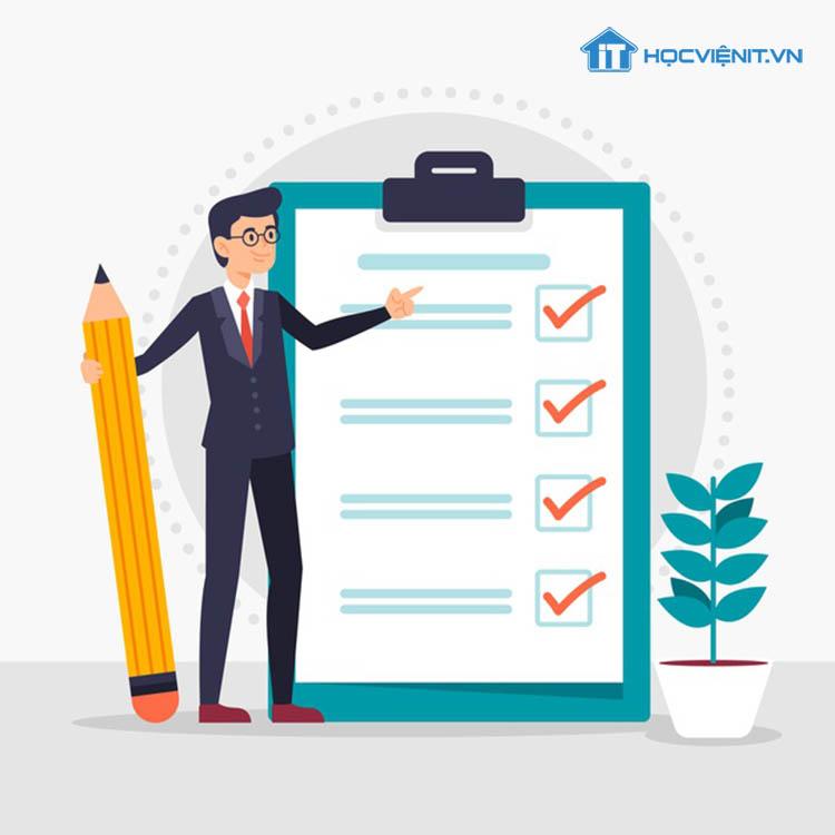 Lên danh sách những công việc cần làm sẽ giúp bạn tiết kiệm được khá nhiều thời gian