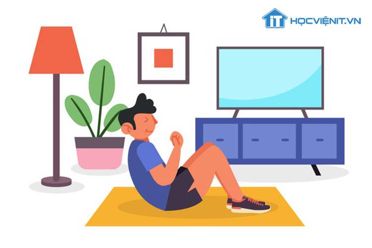 Vận động nhẹ nhàng giúp bạn giảm bớt căng thẳng mệt mỏi trong công việc