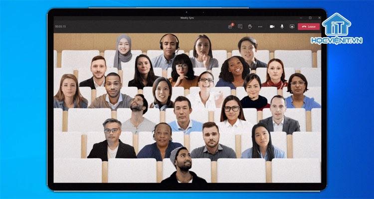 Together Mode trên Microsoft Teams