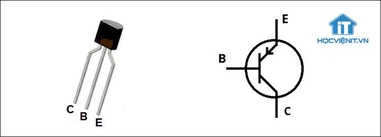 Dòng điện trong Transistor thuận