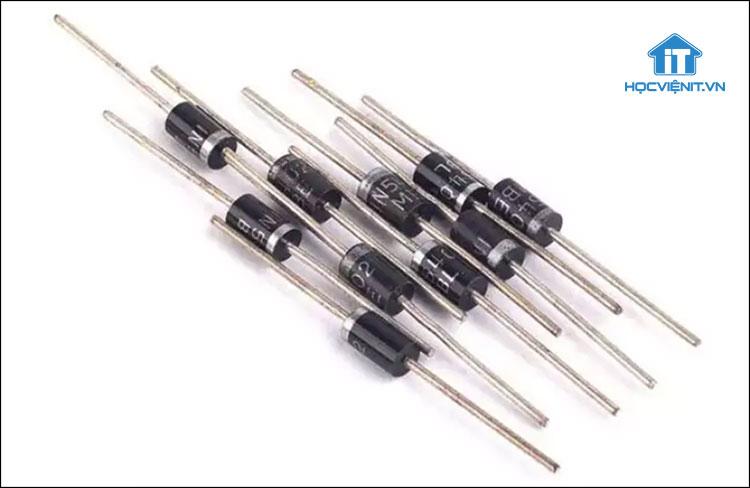 Hình dáng diode xung trên thực tế