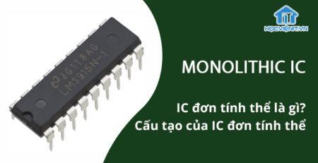 IC đơn tính thể là gì? Cấu tạo của IC đơn tính thể