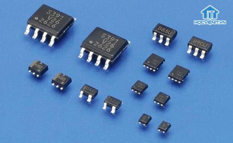 Một số loại IC trên thực tế
