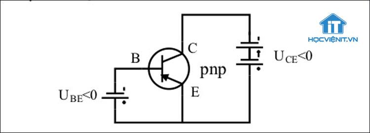 Nguyên lý hoạt động của Transistor thuận