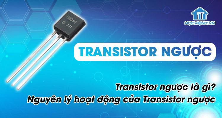 Transistor ngược là gì? Nguyên lý hoạt động của Transistor ngược