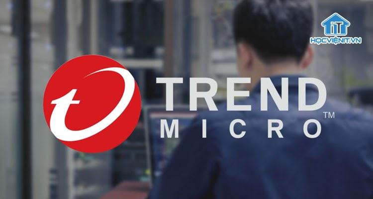 Phần mềm tiêu diệt virus hiệu quả Trend Micro