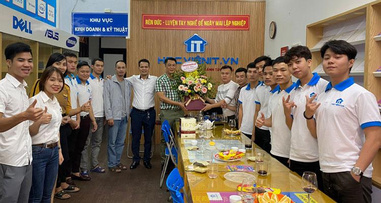 Buổi lễ mừng ngày Nhà giáo Việt Nam 20-11 tại Học viện iT.vn