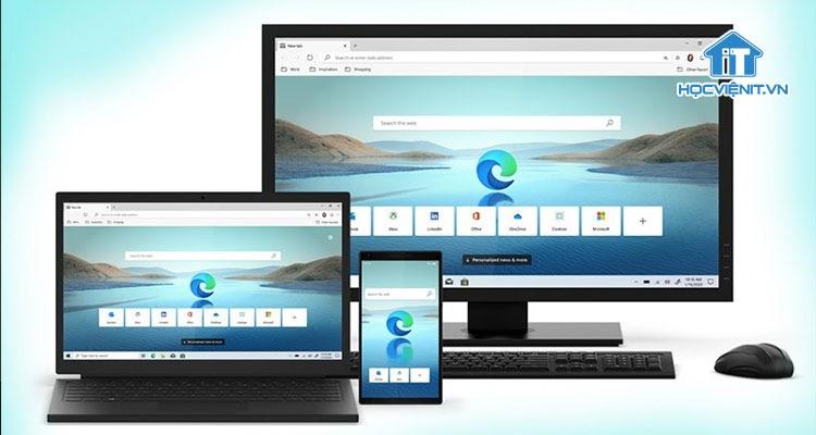 Trình duyệt Edge thay thế cho Internet Explorer