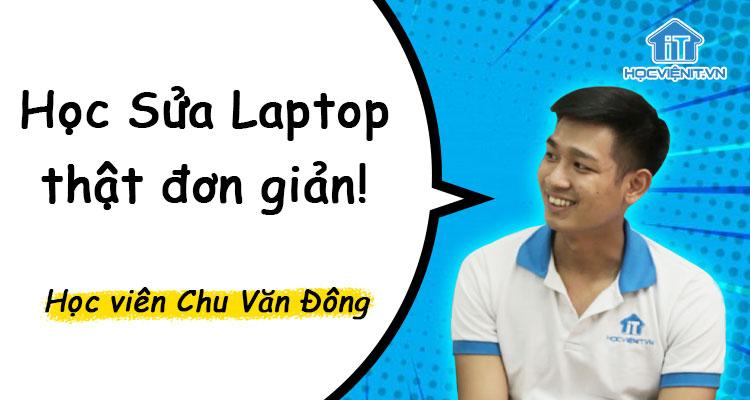 Học Sửa Laptop thật đơn giản