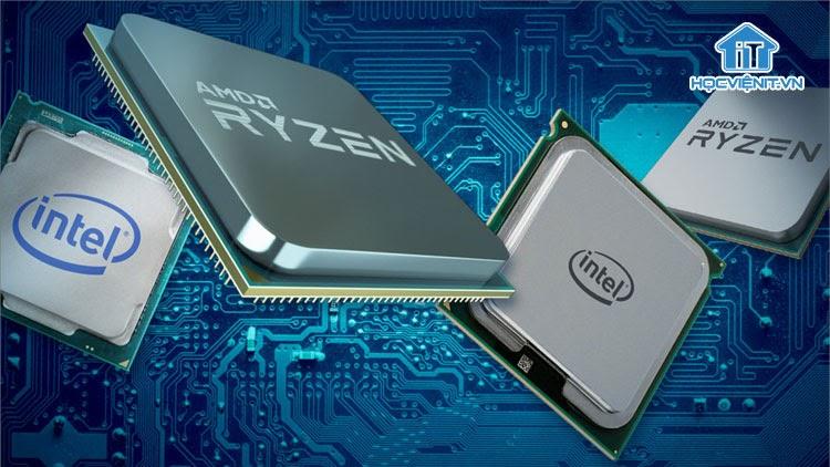 Năm 2020, hiệu suất làm việc của chip Intel bị áp đảo trước chip AMD