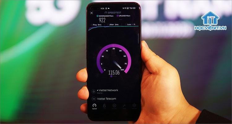 Kết nối 5G siêu nhanh đã có mặt trên điện thoại từ lâu